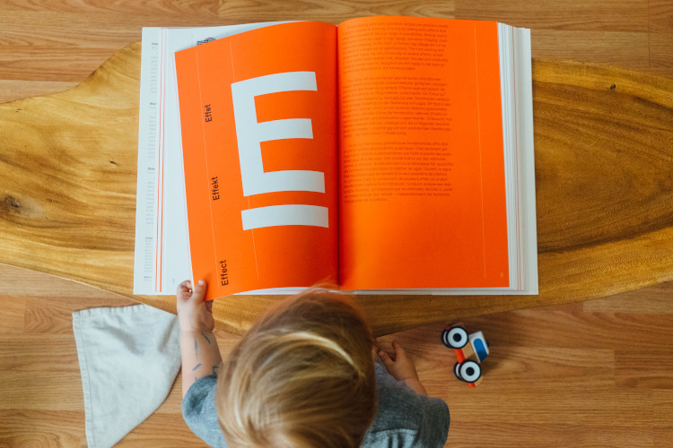 A book for Elearning voice over narration